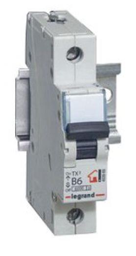 Купить Выключатель автоматический 1-пол. 32А B 6kA TX3 Legrand TX3 6 10 кА, B