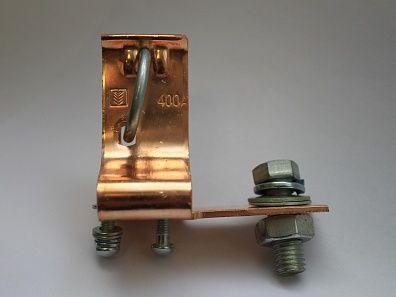 Держатель плавкой вставки ПН2-400А (медь) медные ножи, Электроаппарат ЛПО  - Купить
