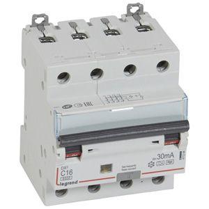 Купить Дифференциальный автомат 4-пол. 16А 30mA Hpi DX3 Legrand
