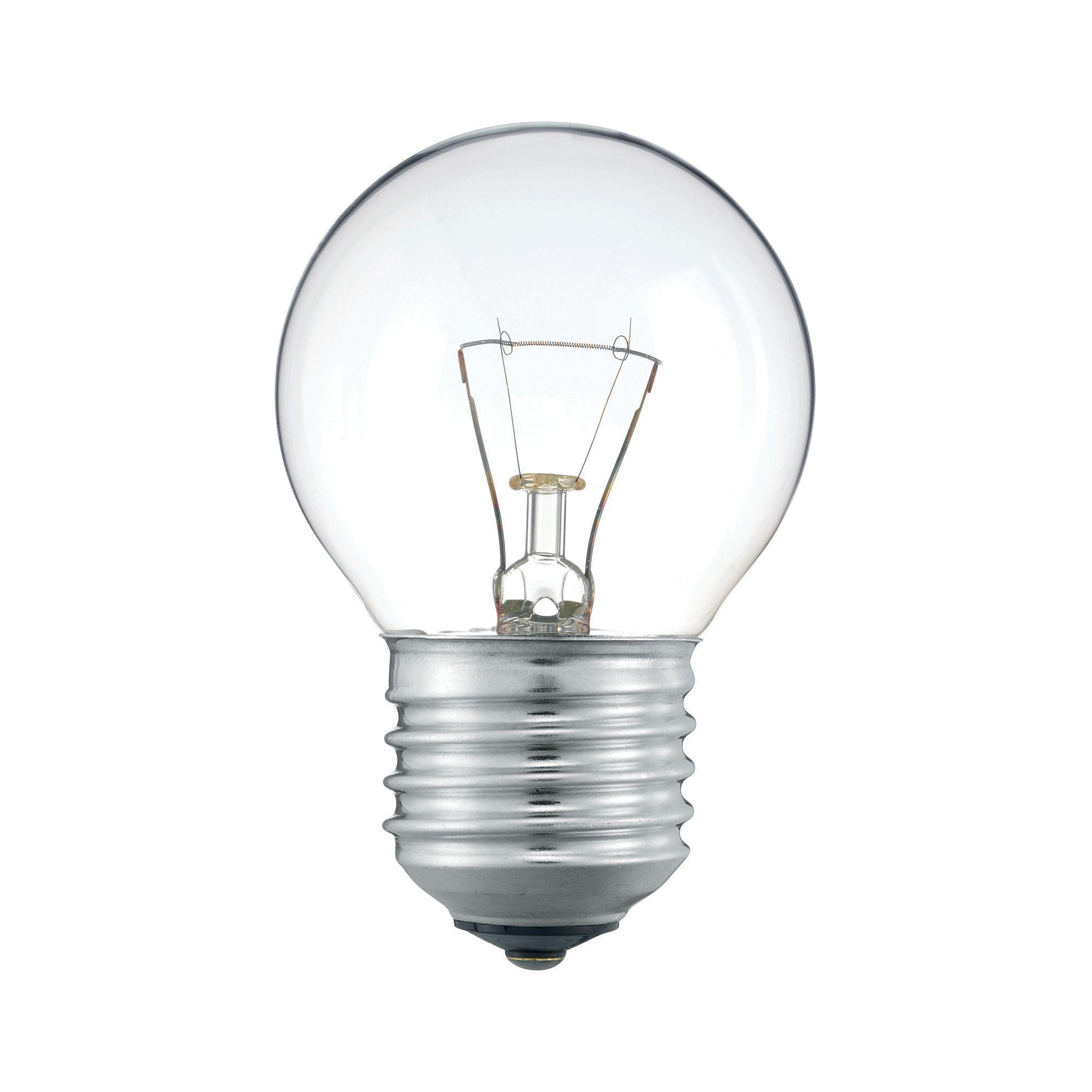 Купить Лампа накаливания Philips Stan 25W E27 230V P45 CL 1CT/10X10F прозрачная