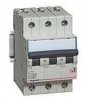 Купить Выключатель автоматический 3-пол. 16А с 6kA TX3 Legrand TX3 6 10 кА с