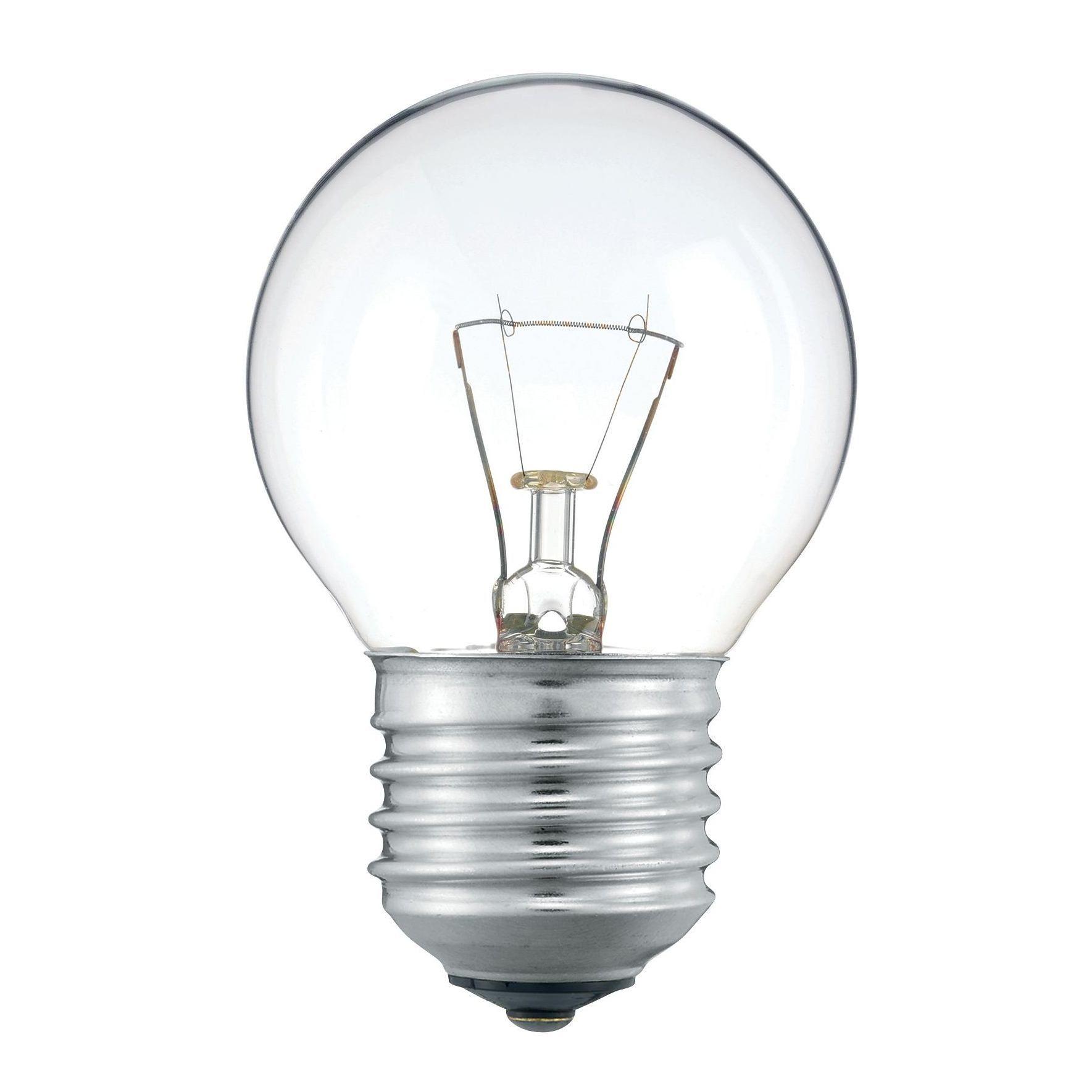 Купить Лампа накаливания Philips P45 40W 230V E27 CL.1CT/10X10F прозрачная