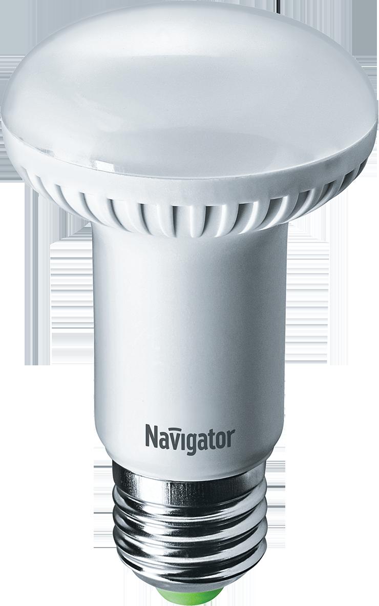 Лампа светодиодная Navigator NLL-R63-8-230-4K-E27/94138 8Вт 230В холодный-белый  - Купить