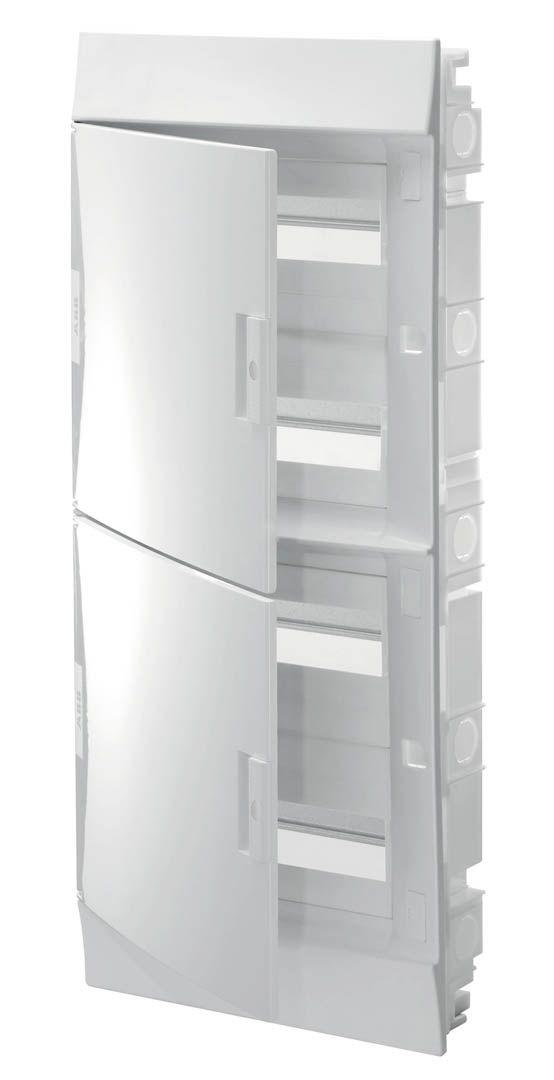 Купить Бокс в нишу41 48М непрозрачная дверь (с клеммами) 735х320х108 IP41 ABB