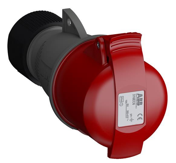 Купить Розетка силовая переносная 3P+E 16A IP44 ABB Easy&Safe