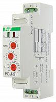 Купить Реле времени многофункциональное PCU-511U, контакт 1Р, монт. на DIN-рейке 35 мм, , Евроавтоматика ФиФ