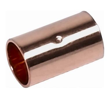 Муфта ВП-ВП, медь 28, для медных труб под пайку Sanha 5270 1527028