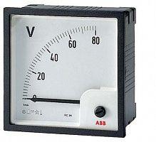 Купить Вольтметр переменного тока прям.вкл. VLM-1-400/72 ABB