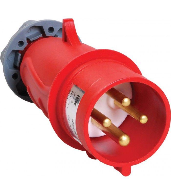 Купить Вилка силовая переносная 3P+E 32A IP44 024 MAGNUM IEK, IEK (ИЭК)