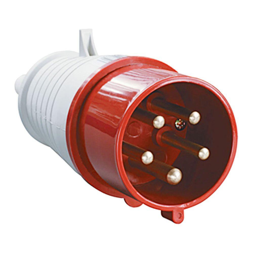 Купить Вилка силовая переносная 3P+N+E 32A IP44 025 MAGNUM IEK, IEK (ИЭК)