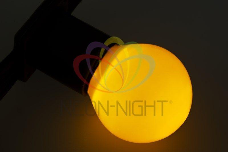 Купить Лампа NEON-NIGHT 401-111 е27 желтая для BL 10 Вт