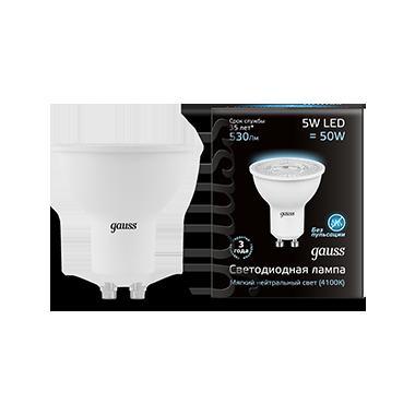 Купить Лампа светодиодная Gauss 101506205 5Вт 230В холодный-белый