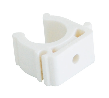 Купить Крепление для полипропиленовых труб под сварку (цвет белый) d=50 Kalde 3592-bck-, Турция