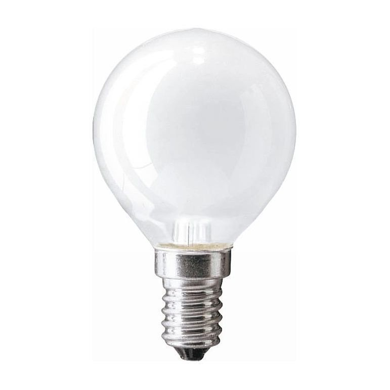 Купить Лампа накаливания Philips P45 60W 230V E14 FR.1CT/10X10F матовая