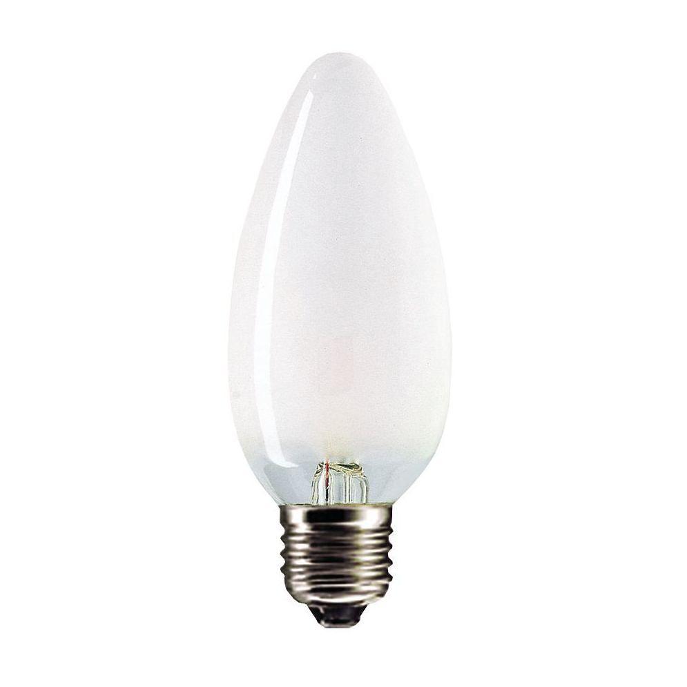 Купить Лампа накаливания Philips CANDLE STD 60W E27 230V B35 FR 1CT/10X10 свеча матовая, PILA
