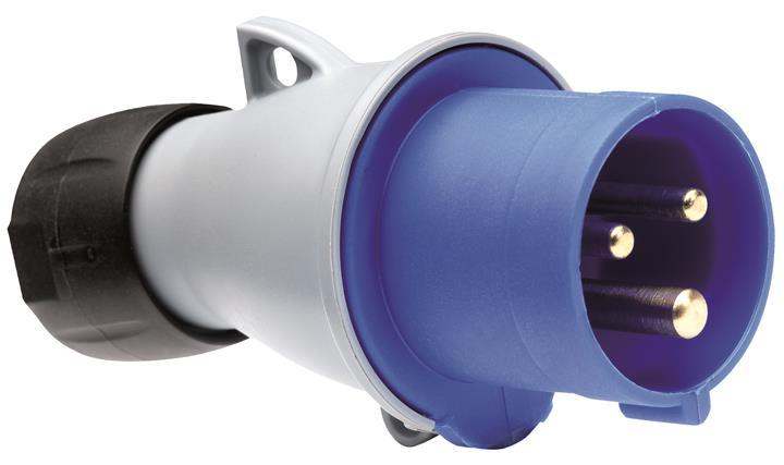 Купить Вилка силовая переносная 2P+E 16A IP44 ABB