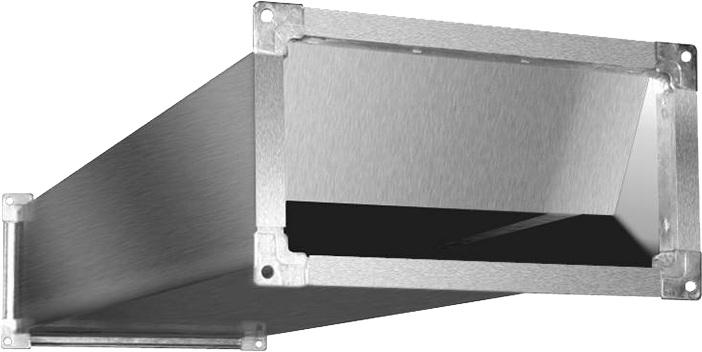 Шумоглушитель SRr 600*300/1000