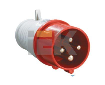 Купить Вилка силовая переносная 3P+E 16A IP44 014 IEK, IEK (ИЭК)