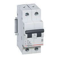 Купить Выключатель автоматический 4, 5кА 2 пол. 6А с RX3 Legrand RX3 4, 5кА