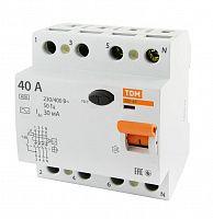 Купить Устройство защитного отключения 4-пол. 40А 30мА ВД1-63 TDM, TDM ELECTRIC