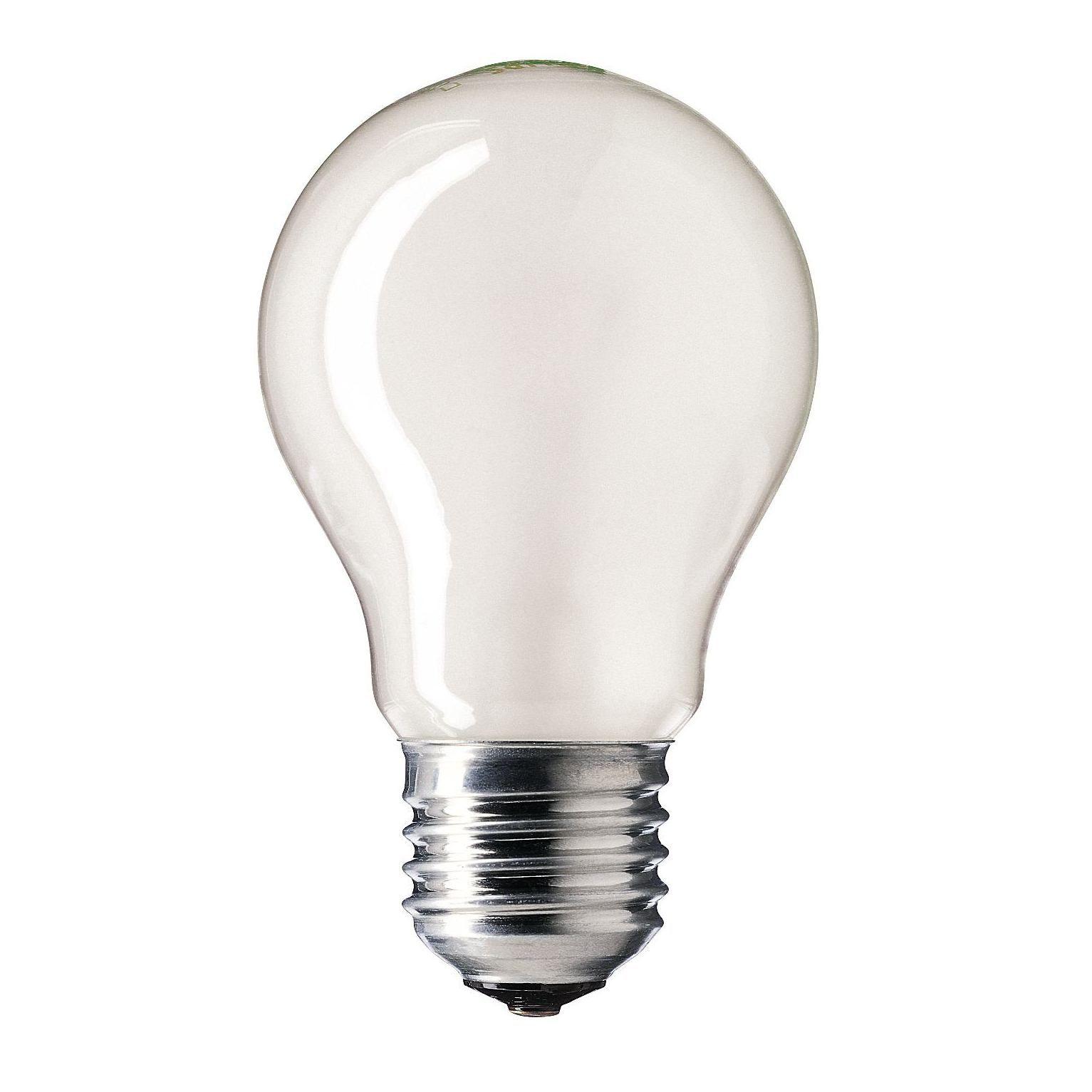 Купить Лампа накаливания Philips STANDARD 60W E27 230V A55 FR 1CT/12X10F Pila матовая