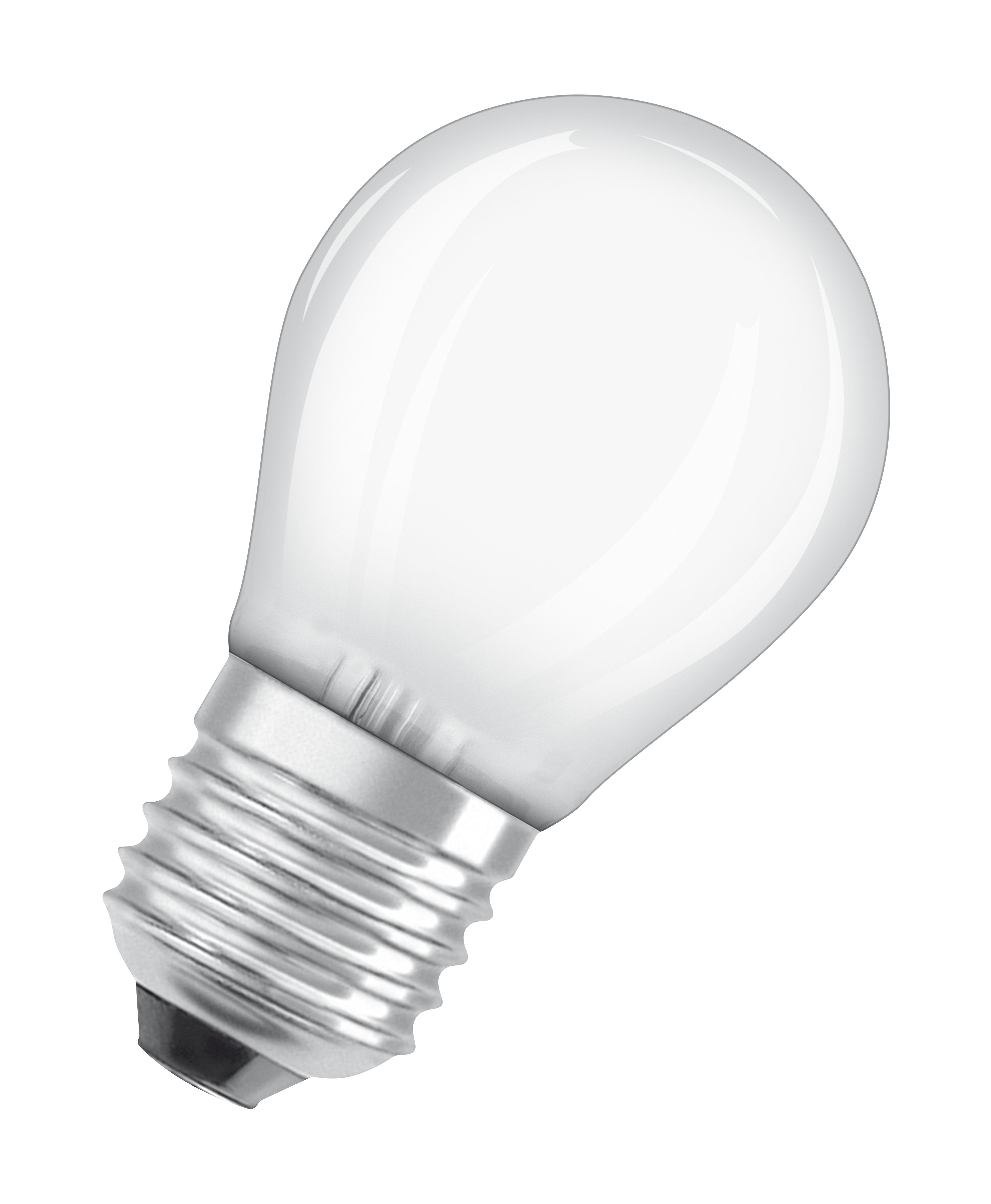 Купить Лампа светодиодная Osram LS CLP40 5, 4W/830 230VFR E27 10X1RUOSRAM теплый-белый, , Osram Ledvance