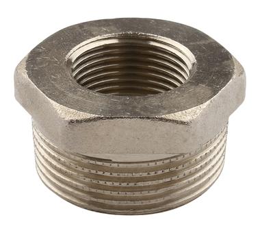 Купить Футорка НВ никелированная 1 1/4х3/4 для стальных труб резьбовой TIEMME 1500352(1, Италия