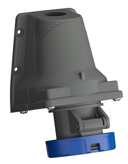 Купить Розетка для монтажа на поверхность 2P+E 16A IP67 ABB Easy&Safe силовая стационар