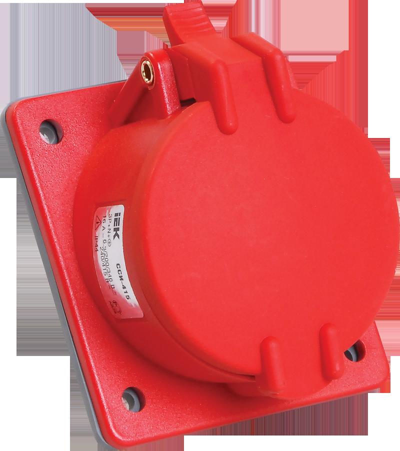 Купить Розетка для монтажа на поверхность 3P+N+E 16A IP44 115 MAGNUM силовая стационарн, IEK (ИЭК)