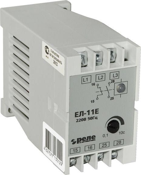Купить Реле контроля 3-фаз. напряжения ЕЛ-11Е (380 В, 50Гц) Контроль напряженияРеле и, Реле и Автоматика