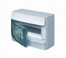 Купить Бокс настенный IP65 12М Mistral дымчатая дверь 320x250x155 ABB