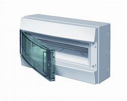 Купить Бокс настенный IP65 18М Mistral дымчатая дверь 430x250x155 ABB