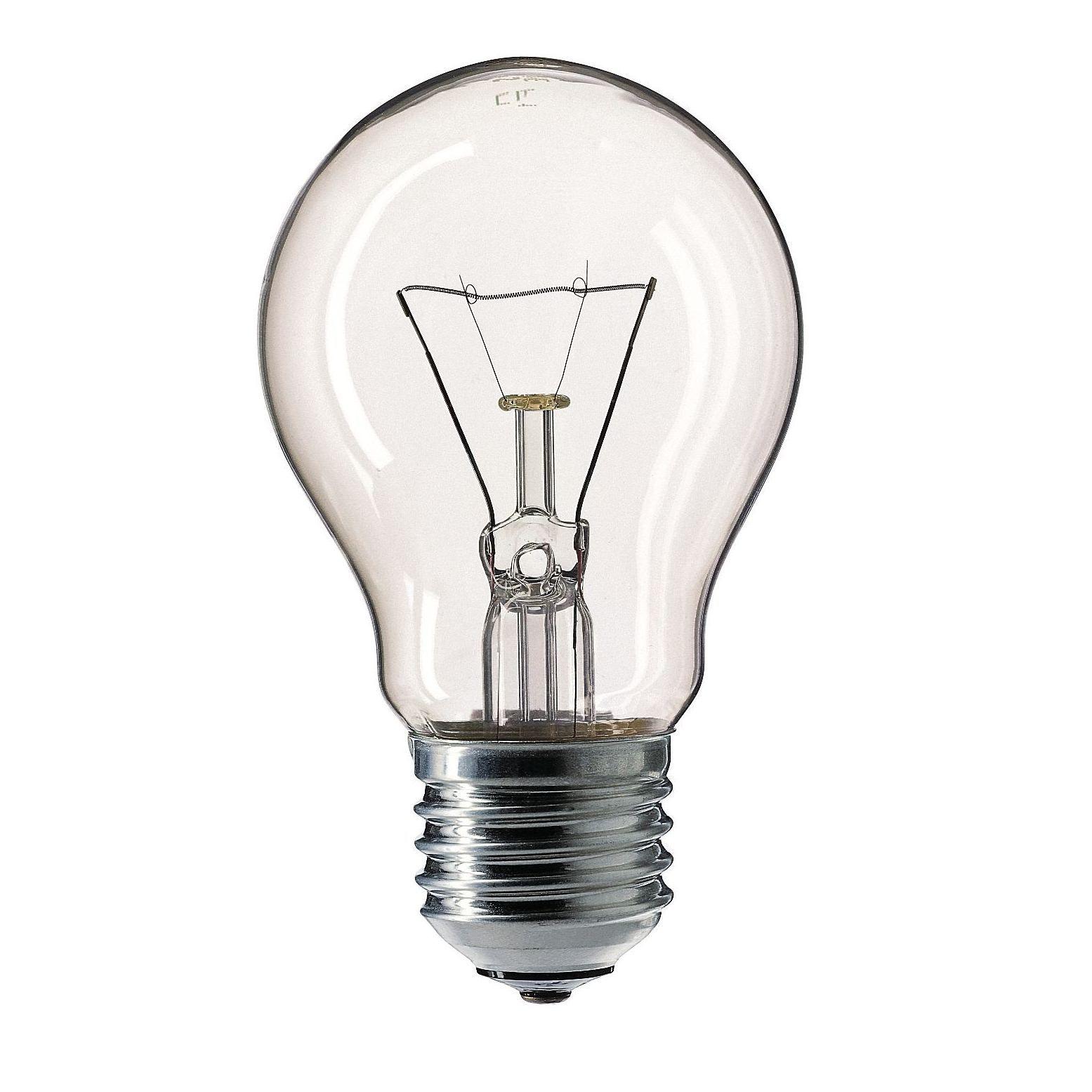 Купить Лампа накаливания Philips STANDARD 60W E27 230V A55 CL 1CT/12X10F Pila прозрачна