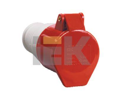 Купить Розетка силовая переносная 3P+E 16A IP44 214 IEK, IEK (ИЭК)