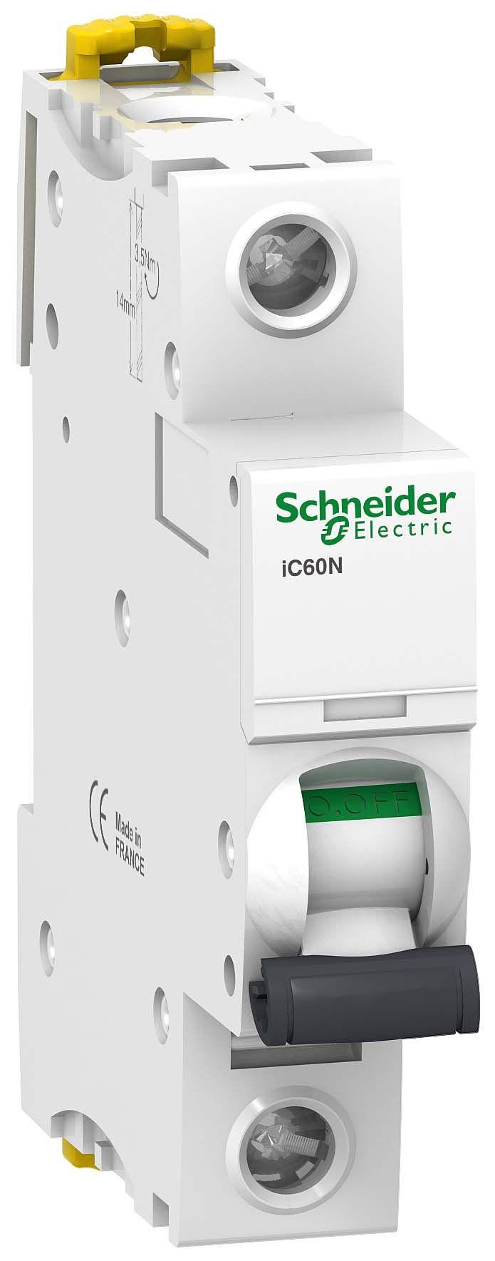 Купить Выключатель автоматический 1-пол. 16A с 6кА iC60N Schneider Electric iC60N, iK60
