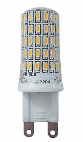 Купить Лампа светодиодная Jazzway PLED-G9 7w 2700K 400Lm 220V/50Hz капсула теплый-бел