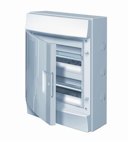 Купить Бокс настенный IP65 24М Mistral непрозрачная дверь 320x435x155 ABB
