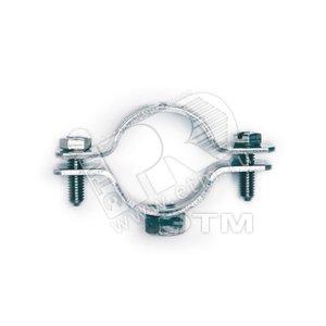 Купить Хомут трубный (75-80 мм) М10 оцинкованная сталь DKC, Россия