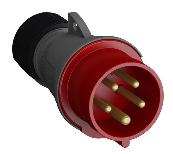 Купить Вилка силовая переносная 3P+N+E 32А IP44 ABB Easy&Safe