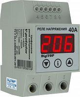 Купить Реле контроля 1-фаз. напряжения Vp-40A 40А, DigiTOP