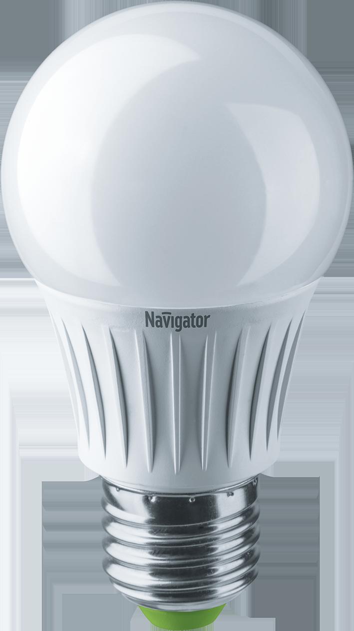 Купить Лампа светодиодная Navigator NLL-A60-10-230-4K-E27/94388 10Вт 230В холодный-белы
