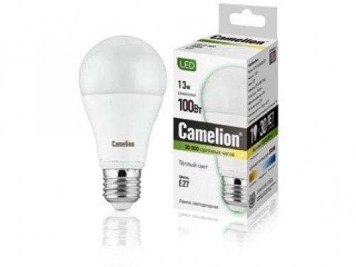 Купить Лампа светодиодная Camelion LED13-A60/830/E27 13Вт 230В теплый-белый