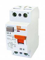 Купить Устройство защитного отключения 2-пол. 50А 30мА ВД1-63 TDM, TDM ELECTRIC