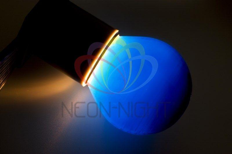 Купить Лампа NEON-NIGHT 401-113 е27 синяя для BL 10 Вт