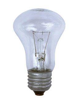 Купить Лампа накаливания Лисма Б 225-235-75-2 Е27 75Вт 230В прозрачная