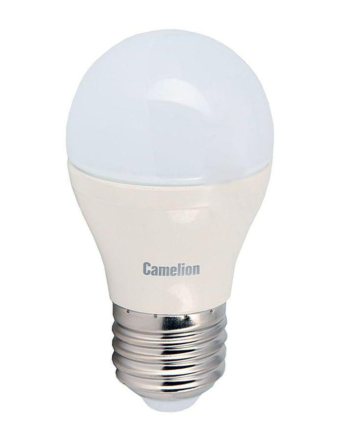 Купить Лампа светодиодная Camelion LED6.5-G45/845/E27 6.5Вт холодный-белый, матовая