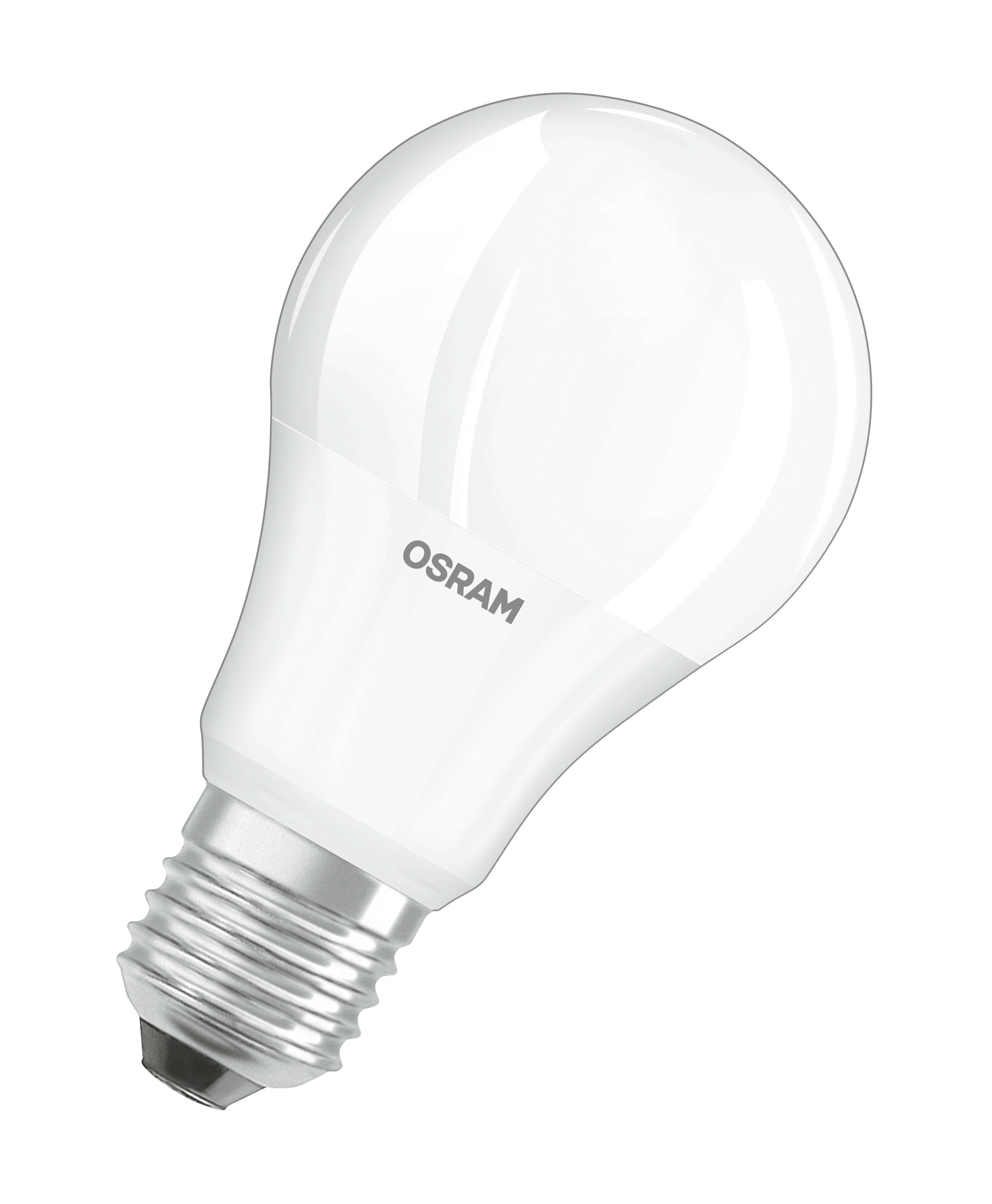 Купить Лампа светодиодная Osram LSCLA75 9, 5W/827 230VFR E27 10X1 RUOsram теплый-белый, Osram Ledvance