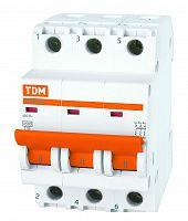 Купить Выключатель автоматический 3-пол. 3А D 4, 5кА ВА47-29 TDM D ВА47-29 TDM, TDM ELECTRIC