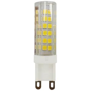 Лампа светодиодная Эра LED smd JCD-7w-220V-corn, ceramics-8 G9 капсула холодны, ЭРА (Энергия света)  - Купить