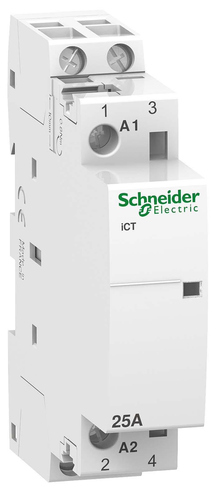 Купить Модульный контактор iCT 25А 220В 2НО Schneider Electric